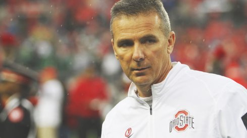 Urban Meyer on the sidelines.