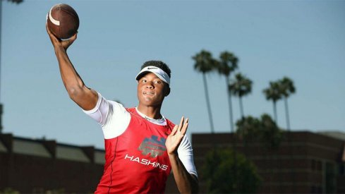 Dwayne Haskins, Jr. is now a Buckeyes' commitment.