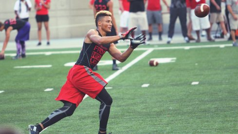 Austin Mack chose the Buckeyes over Notre Dame and several other schools.