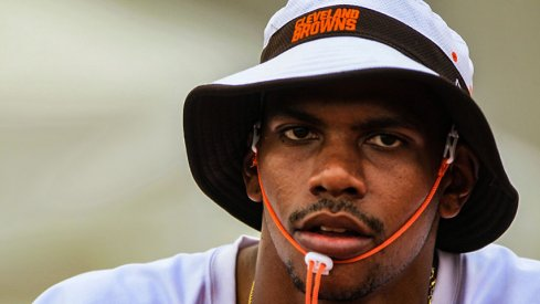 Terrelle Pryor will play for the Browns today.