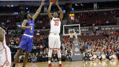 Keita Bates-Diop is struggling from deep this season.