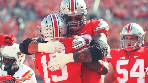 Taylor Decker and Ezekiel Elliott were named second team All-Americans by the FWAA Monday.