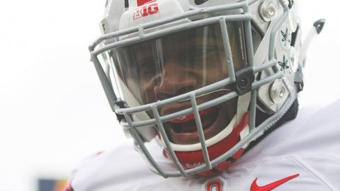 Vonn Bell all grins after capturing All-American honors.