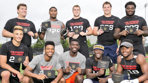 Buckeye commits abound at The Opening.