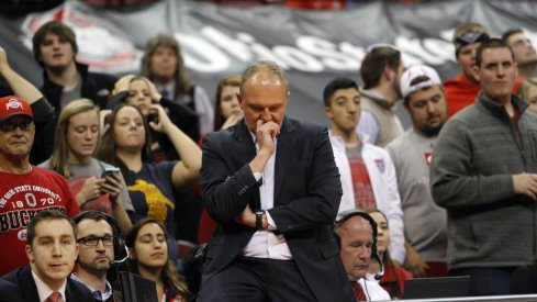 Thad Matta remains remarkably composed