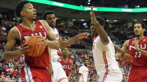 Ohio State beats Northern Illinois 67-54.