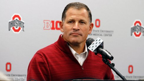 Greg Schiano meets with the Columbus media for the first time.