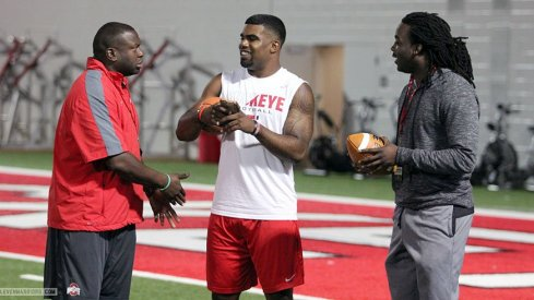 Kareem Walker during his last Ohio State visit.