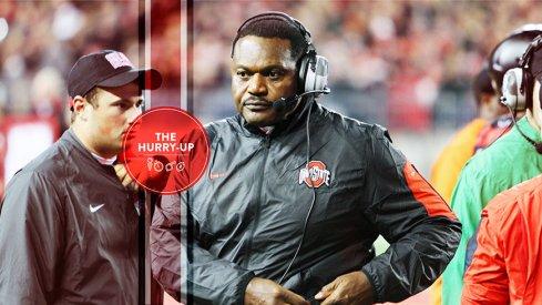 Ohio State defensive line coach Larry Johnson, Sr.