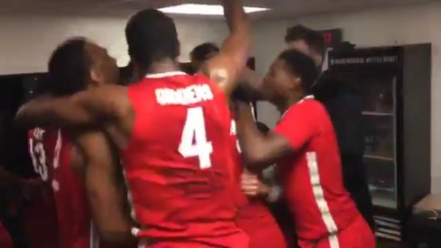 Team Celebrates Downing Kentucky