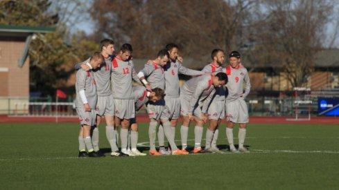 The 2015 Ohio State men's soccer team.