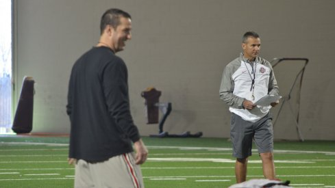 Ohio State's coaches are trying to keep the mood loose, but focused during Fiesta Bowl preparations.