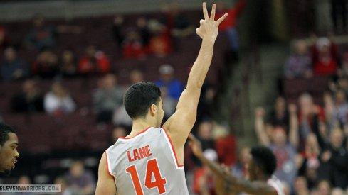 Ohio State freshman walkon Joey Lane.