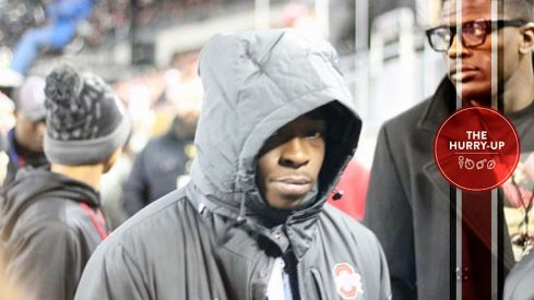 Sam Bruce during his October visit to Ohio State.