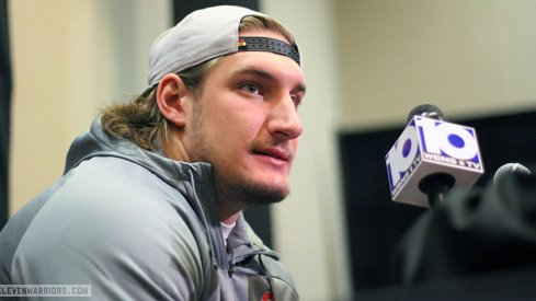 Joey Bosa and the Buckeyes have arrived in Phoenix.