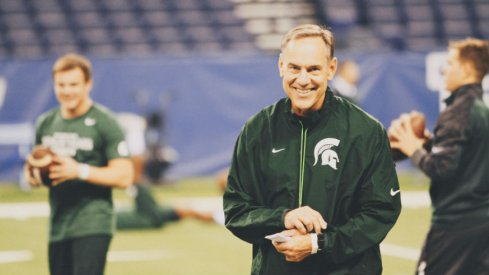 Mark Dantonio's team could have everyone smiling about the Big Ten.