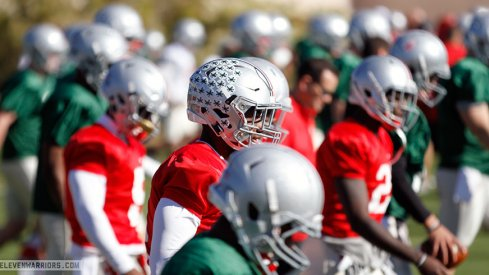 Ohio State was on the practice field for the second day in Arizona.