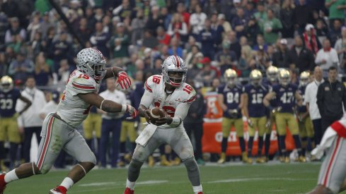 Ohio State's offense led the way in a 44-28 domination of Notre Dame.
