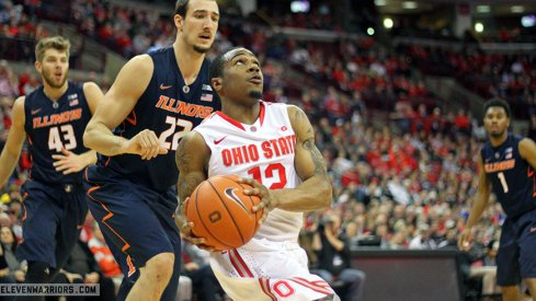 Ohio State topped Illinois Sunday to win its sixth straight game.