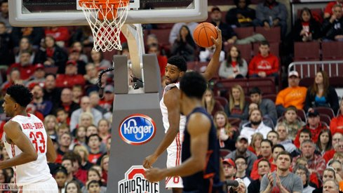 Jaquan Lyle and the Buckeyes fought off Illinois on Sunday night.