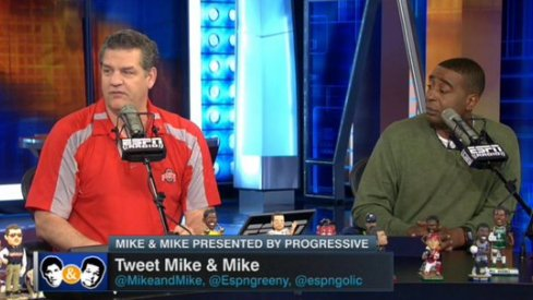 Mike Golic in Ohio State gear