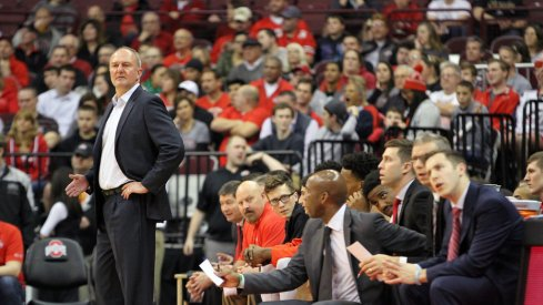 Thad Matta joined the 13 other Big Ten coaches on the first conference teleconference of the season Monday.