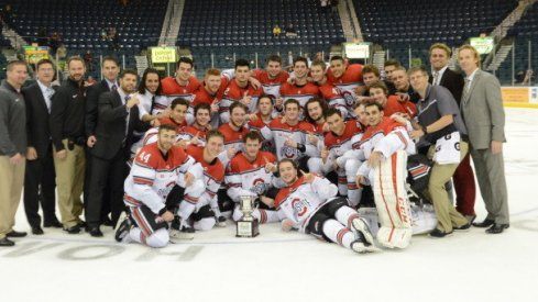 The Ohio State men's hockey team took home the Florida College Classic title.