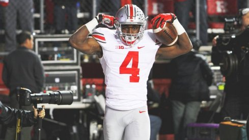 Curtis Samuel tallied 39 touches and 421 yards from scrimmage as a sophomore in Ohio State's crowded offense.
