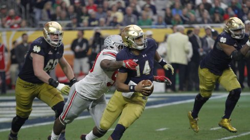 Tyquan Lewis and the OSU rushmen made life difficult for the Irish