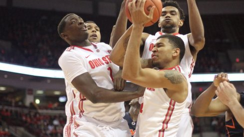 Four different Buckeyes have led the team in rebounding during their current 7-game win straek.