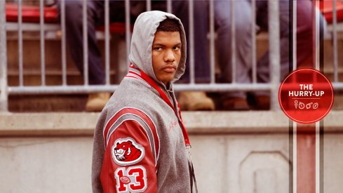 Isaiah Pryor during his last Ohio State visit