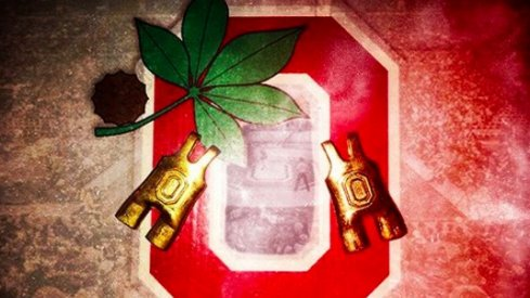 Gold Singlets: Ohio State Wrestling Takes on Michigan
