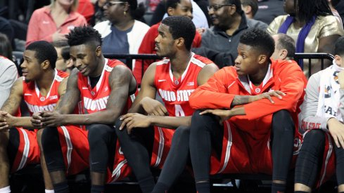 Ohio State's bench.