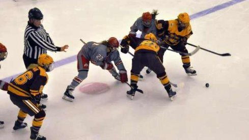 That's about as close as the Bucks got to the puck today