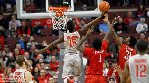 Kam Williams and the Buckeyes blew out Rutgers.