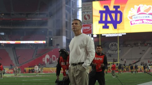 Urban Meyer's staff moves were a result of his need to keep Ed Warinner in the press box.