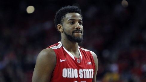 JaQuan Lyle disappointed after losing to Maryland.