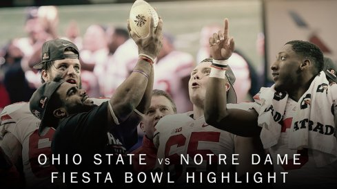 Ohio State destroyed Notre Dame in the Fiesta Bowl