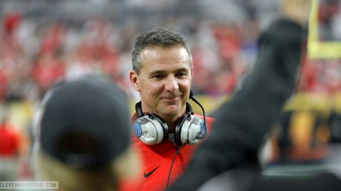 Urban Meyer is smiling in January, that's good news for the Buckeyes.