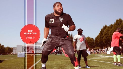 Rashard Lawrence at The Opening.