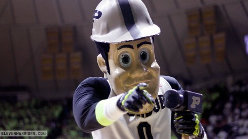 Purdue downed Ohio State in basketball Thursday.