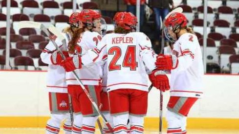 Claudia Kepler was a force as Ohio State women's hockey downed Minnesota State
