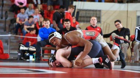 Wrestling: OSU vs. IU