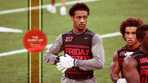 Ohio State 2018 offer Jaelin Gill at Friday Night Lights in July, 2015