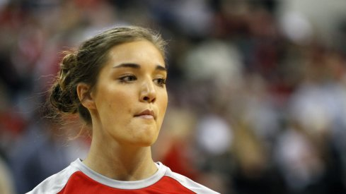 Cait Craft provided much needed consistency for the Buckeyes, shooting a perfect 5-5 from the field.