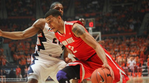 Ohio State overcame a slow start to top Illinois Thursday.