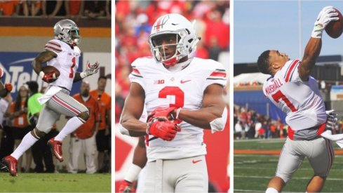 Braxton Miller, Mike Thomas and Jalin Marshall all have eyes on the NFL prize.