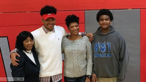 Malik Harrison stayed home to be a Buckeye.