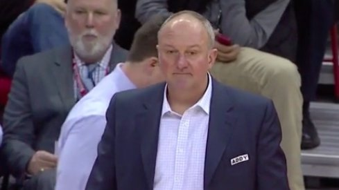 Video: Thad Matta's 'Addy' Patch