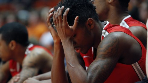 Kam Williams had 10 points for Ohio State in the loss to Wisconsin.
